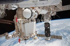 STS-132 ISS-23 Rassvet Pirs and Progress M-05M