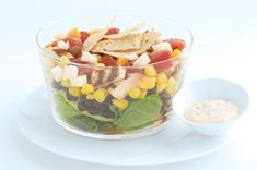 Simple Layered Fiesta Salad recipe