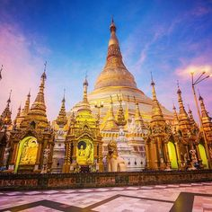 Location: #Shwedagon #Pagoda - #Yangon - #Myanmar Photo Credit: @marcobottigelli Chosen by: @toinou1375 Hashtag your photos with: #asia_vacations Visit our other sister pages: @europe.vacations | @italy.vacations by asia.vacations