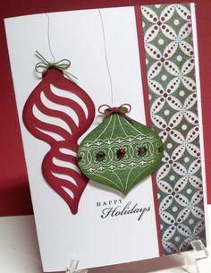 christmas cards using Close To My Heart Artiste Cricut Cartridge. #Cricuit Artiste #CTMH