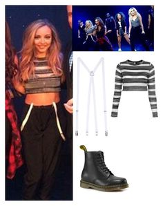 """""""Jade Thirlwall exact #41"""" by ilikewarmhugsolaf ❤ liked on Polyvore featuring Topshop, American Apparel, Dr. Martens, women's clothing, women, female, woman, misses and juniors"""
