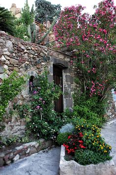 Grimaud Village, Provence, France