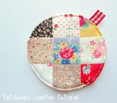 Round Patchwork Coaster Tutorial