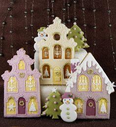 Beautiful Christmas Cookies - Cakes Haute Couture - Pasteles de Alta Costura