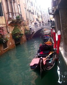 Gondola  Venice, Italy, its expensive but worth the experience if its something you want to do, taking a tour on a gondola can be mesmerizing