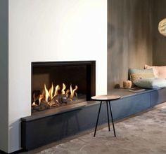 Fairo ECO-line 80 - Haardenexpert Fireplace Seating, Fireplace Design, Tapis Design, Interior Architecture, Interior Design, Modern Carpet, Mesas, Art, Homes