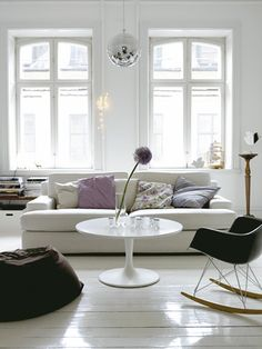 with a white backdrop the accents you bring in, stand out SO much