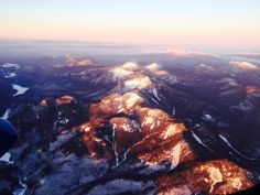 Adirondacks Alpine glow over the Whiteface region