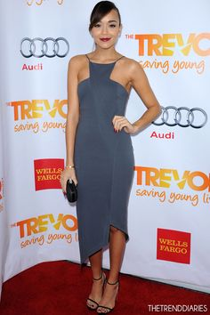 "Ashley Madekwe at The Trevor Project's 2012 ""Trevor Live"" Event Honoring Katy Perry Held at The Hollywood Palladium in Hollywood, California - December 2, 2012"