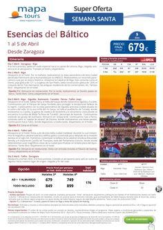 Esencias del Báltico Semana Santa salida Zaragoza **Precio Final desde 679** ultimo minuto - http://zocotours.com/esencias-del-baltico-semana-santa-salida-zaragoza-precio-final-desde-679-ultimo-minuto/