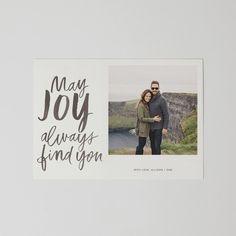 May Joy (Gray Watercolor)