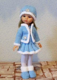 Новогодние наряды для кукол Паола Рейна 32-34 см. / Одежда для кукол / Шопик. Продать купить куклу / Бэйбики. Куклы фото. Одежда для кукол