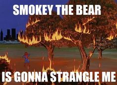 Smokey the bear meme | spiderman+meme+smokey+the+bear.jpg
