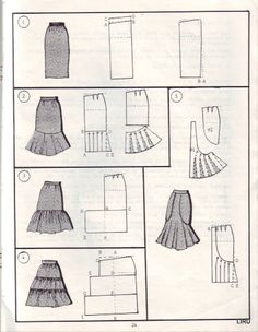 Amazing Sewing Patterns Clone Your Clothes Ideas. Enchanting Sewing Patterns Clone Your Clothes Ideas. Skirt Patterns Sewing, Clothing Patterns, Skirt Sewing, Diy Clothing, Sewing Clothes, Fashion Sewing, Diy Fashion, Sewing Tutorials, Sewing Hacks
