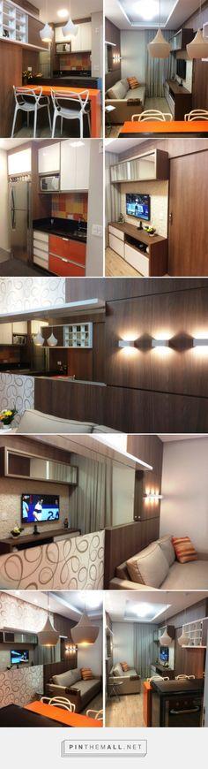 Apartamento de 28 m² ganha sala integrada e colorida   Casa - created via https://pinthemall.net