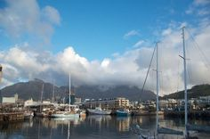 Cape Town harbor...