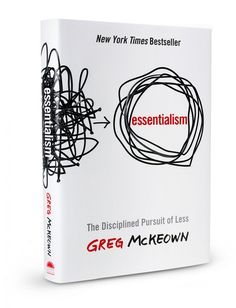 recommended by No Sidebar 30 days to simplify.  Essentialism:  The Disciplined Pursuit of Less.  The books recommended were: The More of Less by Joshua Becker, The Life-Changing Magic of Tidying Up by Marie Kondo, Daring Greatly by Brene Brown,  this book, Organized Simplicity by Tsh Oxenreider