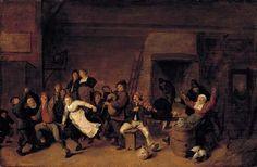 Festival Scene, 1650, Jan Miense Molenuer, Dutch