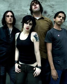 Ryan Sinn, Brody Dalle, Andy Granelli and Tony Bevilacqua (The Distillers) Music Love, Music Is Life, Rock Music, My Music, Transgender, Photo Rock, Brody Dalle, The Distillers, Warner Music