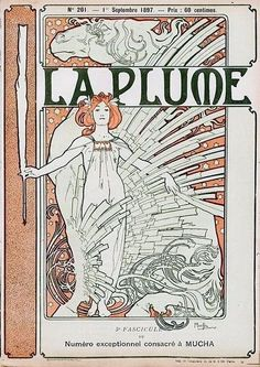 Alfons Maria Mucha / La Plume