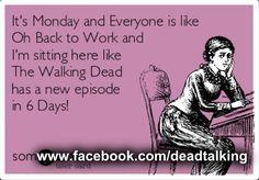the walking dead humor ecard funny