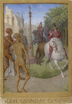 1470s Bibliothèque nationale de France, NAL 3187 fol. 139v - office of the dead source