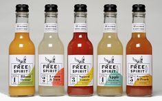 Free Spirit Drinks — The Dieline   Packaging & Branding Design & Innovation News