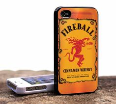 Fireball Cinnamon Whisky - iPhone 4 Case, iPhone