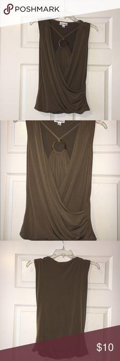 Nice dressy wrap shirt Juniors XL. Tops