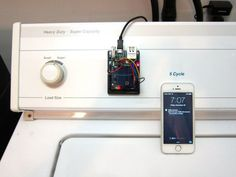 Laundry Text Message Alerts With Arduino Yun The buzzer on a washer or dryer may be OK for most people, but what if you would like something a little more versatile to tell you when your laundry is done? Here's an interesting solution involving an Arduino Yún that sends a text message when the washer or dryer is done.
