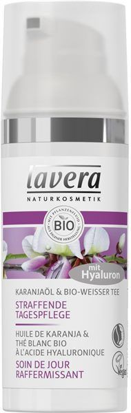 Lavera Karanjaöl Weißer Bio Tee Straffende Tagespflege The firming day care intensively cares for th Beauty Oil, Coenzym Q10, Bio Tee, Skin Shine, Avocado Seed, Glycerin, Olive Fruit, Hand Care, Avocado