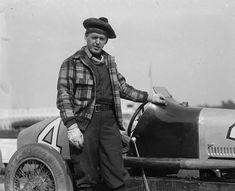 race car driver Tommy Milton