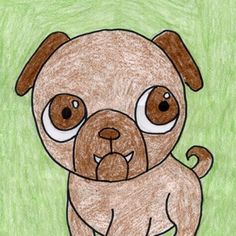 How to Draw a Pug Tutorial