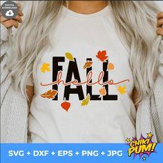 Hello Fall Svg, Fall Svg, Fall Quote, Seasons, Autumn Leaves svg, Fall Svg Designs, Fall Cut Files, Cricut Cut Files, Silhouette Cut Files