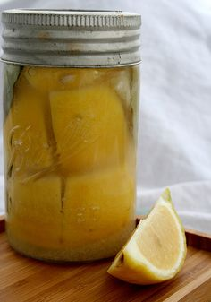 I love citrus. Yet, I was still hesitant to try preserving lemons. Would the salty sour ruin my citrus? That fresh lemon scent so perfect for summery drinks and puckery desserts was, making it toug… Preserved Lemons, Lemon Benefits, Yummy Eats, Tasty Dishes, Amazing Cakes, Preserves, Fruit, Cooking, Recipes
