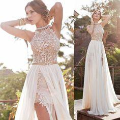 Fashion-Womens-Summer-Boho-Lace-Hollow-Sleeveless-Evening-Party-Maxi-Beach-Dress