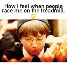 I am admitting my guilt of treadmill racing. 🏃