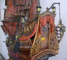 Корабль Черной Бороды (Эдварда Хича) Queen Anne`s Revenge