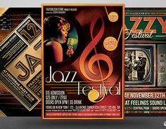 "Check out new work on my @Behance portfolio: ""Jazz Festival Flyer Bundle V2""…"