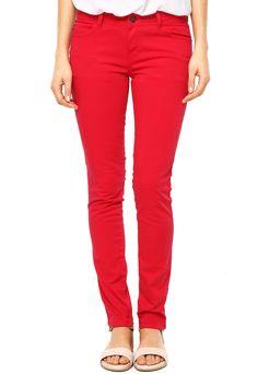 Calça Ellus Skinny Color Vermelha - Compre Agora | Dafiti Brasil