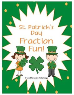 This is a cute Fraction Freebie for St. Patrick's.