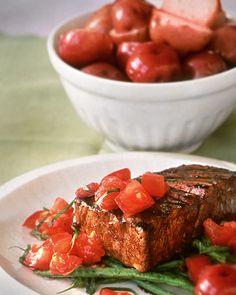 Grilled Tuna with Balsamic Glaze - Martha Stewart Recipes