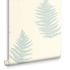 Verdant Teal Wallpaper, , large