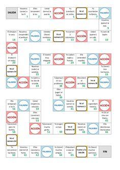 Juego de tablero A1 - conjugation