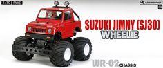 RC Suzuki Jimny (SJ30) Wheelie (Item #58531)