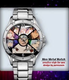 Metal Watches Shippuden Kisame and Itachi Anime #2 Men's Sport Watch | purecases - Jewelry on ArtFire