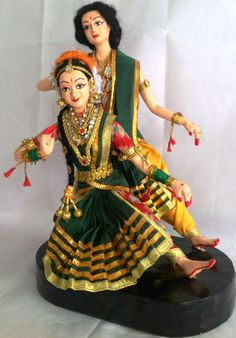 Bharatanatyam Dance Couple