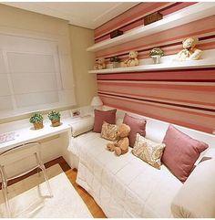 Como montar um quarto de solteiro pequeno para mulher