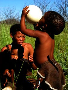 San people of Namibia/Botswana