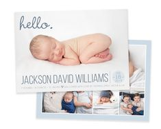 Boy Birth Announcement Template - Newborn Announcement - Boy Birth Announcement - Newborn Template for Photoshop - Photographer Template Newborn Birth Announcements, Baby Boy Birth Announcement, Birth Announcement Template, Elephant Birth, Baptism Invitations, New Baby Products, Heart Designs, Photoshop, Etsy Shop